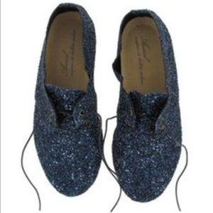 Anniel Shoes - Anniel Derby Glitter Shoes