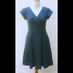 New Eshakti Teal Fit & Flare Dress 14