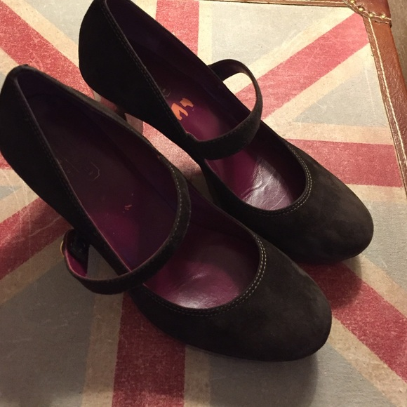 d3b1c54e9a25 Coach Shoes - SHOE SALE 🌟 Coach Mary Janes - dark brown suede