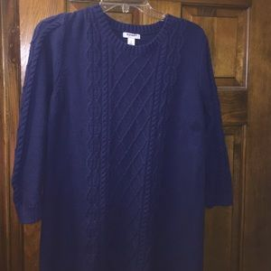 Dresses & Skirts - Navy Knit Dress