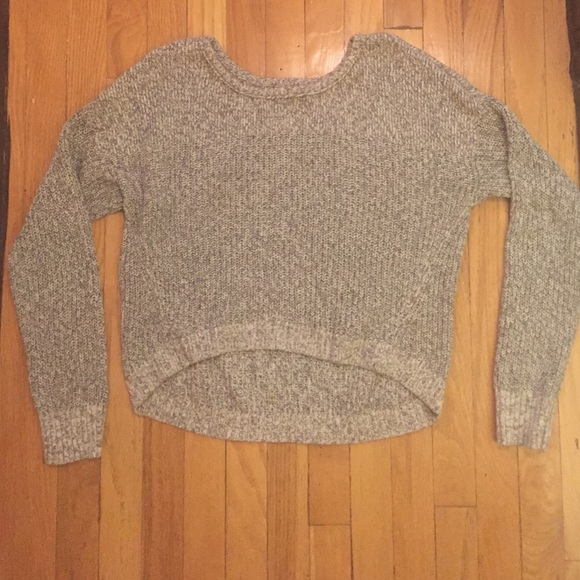80% off American Eagle Outfitters Sweaters - American Eagle light knitted swe...