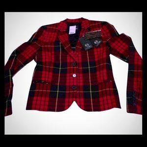 McQ Alexander McQueen Jackets & Blazers - Alexander McQueen Tartan Blazer by MCQ by A McQ