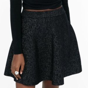 Express Black High Waisted Skirt