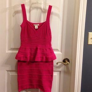 Arden B peplum dress