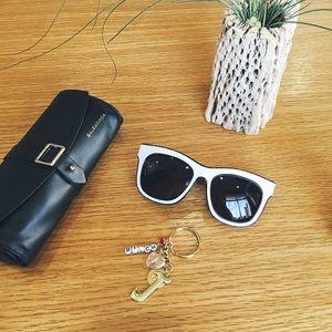 Balenciaga crackle sunglasses Rinka Hannah blogger