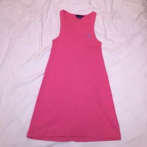 Ralph Lauren Bubblegum Pink Mini Dress