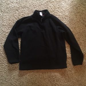 North face 3/4 zip pullover