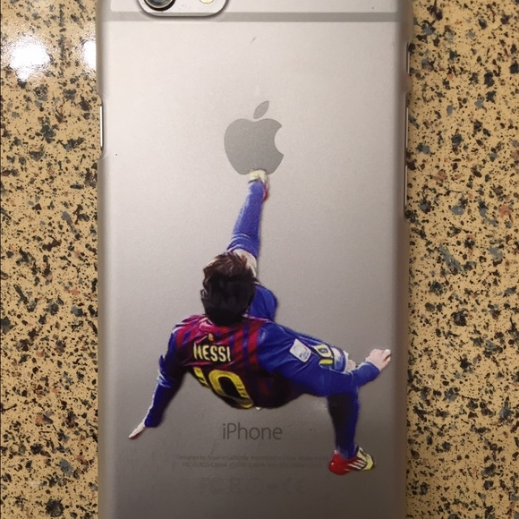 huge discount 8fce8 dfb14 New Messi iPhone 6 plastic shell case
