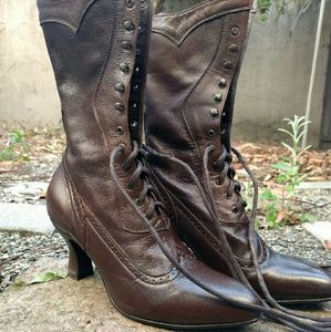 Shoes - Oak Tree Farms Victorian boots