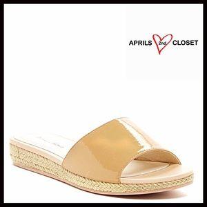 Boutique Shoes - ❗1-HOUR SALE❗Patent Sandals Slip On Espadrille