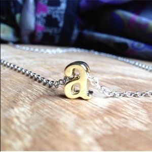 @bthereasap Jewelry - CUSTOM lowercase INITIAL a PENDANT NECKLACE