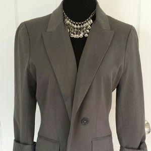Express Jackets & Blazers - Classic Slate Gray Express Blazer