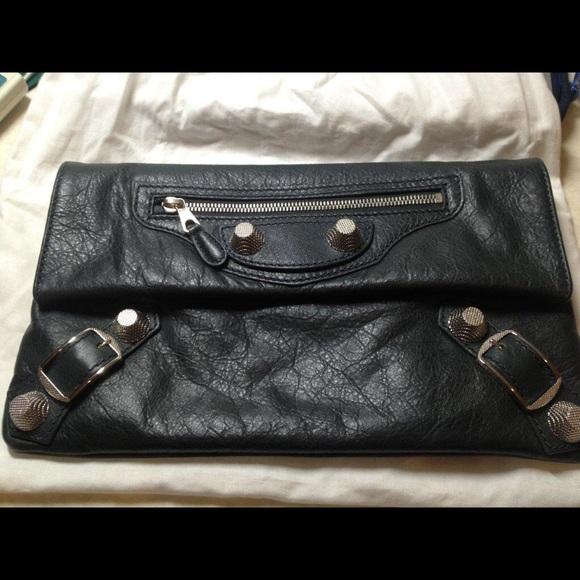 3cfbee5abb Balenciaga Bags | Giant 12 Silver Envelope Clutch | Poshmark