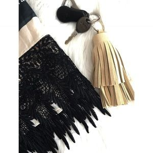 Ellebee206 Accessories - French Vanilla Layered Tassel