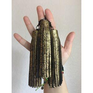 ellebee206 Accessories - Cracked Gold Tassel