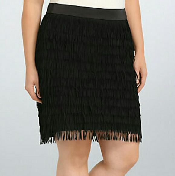55% off torrid Dresses & Skirts - Torrid Fringe skirt size 18 from ...