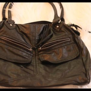 Wetseal black purse
