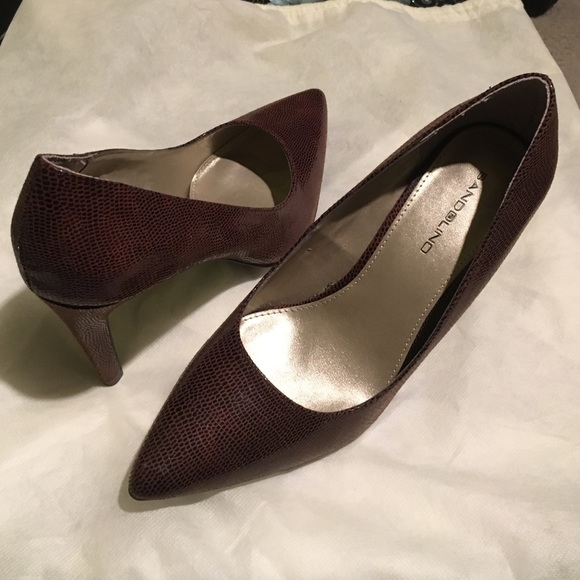 9e3e8246aa6 SALE! 5* Rated BANDOLINO Brown Heels BRAND NEW Boutique