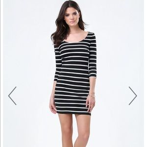 Bebe stripe dress💜💜💜