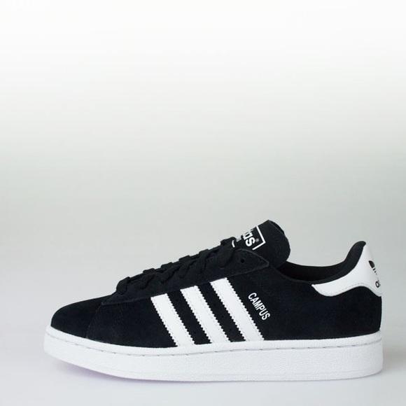 Adidas Campus Shoes (black suede)