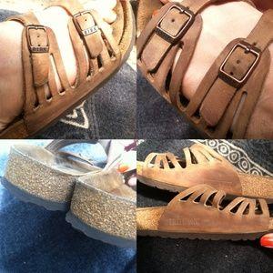 26ca3d3faa775 Birkenstock Shoes - Granada soft footbed oiled leather Birks
