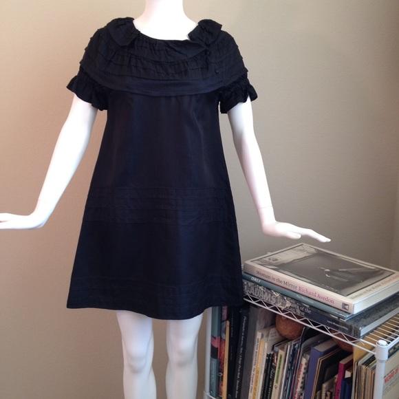 Celyn b Dresses & Skirts - Celyn B Cute Black Ruffled Dress