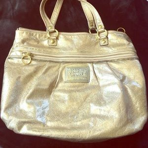 Metallic Coach Bag