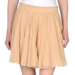 Mes Demoiselles Dresses & Skirts - MES DEMOISELLES Skirt Pleated Gauze Swingy Mini