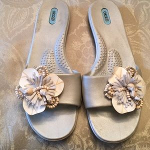 Darling Silver sandals