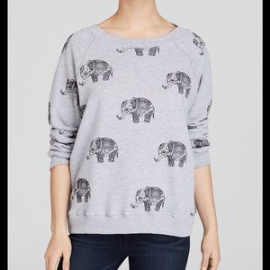 WILDFOX ROAMING ELEPHANTS SWEATSHIRT