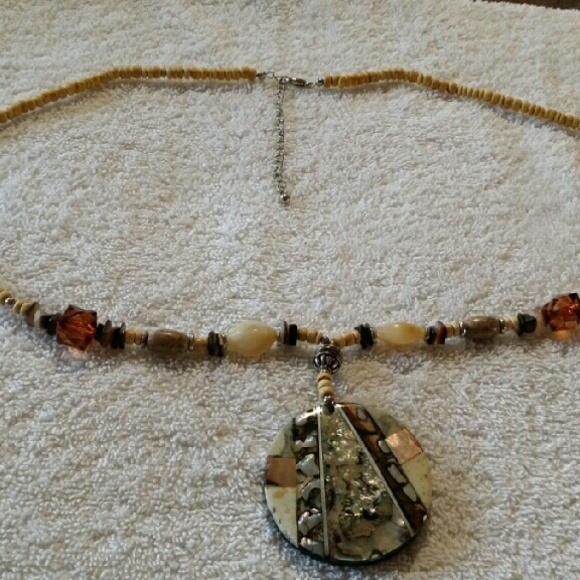 50 off jewelry brown necklace from nancy 39 s closet on for Nancy b fine jewelry