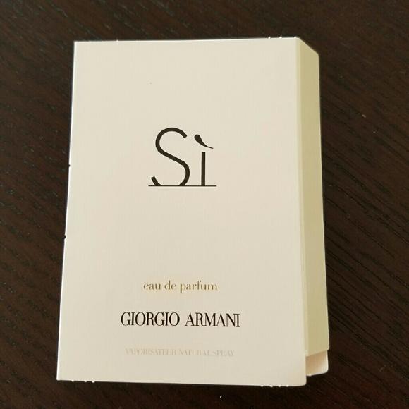 Spray Si Giorgio Eau Sample Parfum Armani Nwt De v0m8nNwO