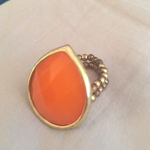 Jewelry - Orange cocktail ring