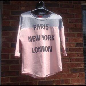 Love Culture Tops - Paris, New York, London Top