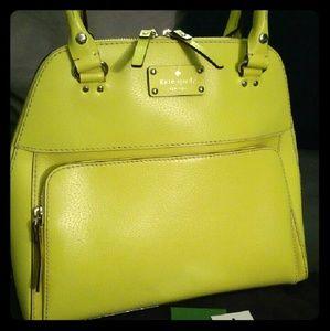 Yellow Kate Spade Wellesley Maeda Handbag