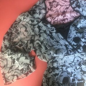 Milano Tops - Contemporary Floral Blouse