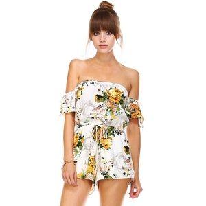 likeNarly Pants - 🔹LAST🔹Garden Society Floral Romper