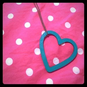 NWT Nordstrom heart necklace