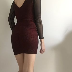 Charlotte Russe Dresses - Charlotte Russe Mesh Bodycon Dress