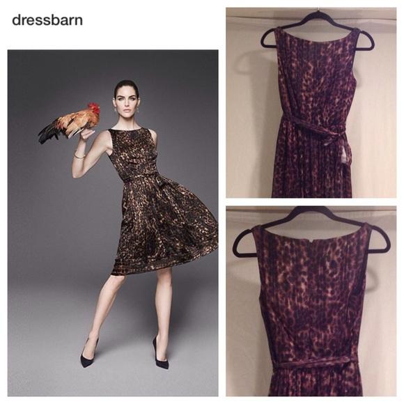 Carmen Marc Valvo Luxe Cheetah Print Dressbarn | Poshmark