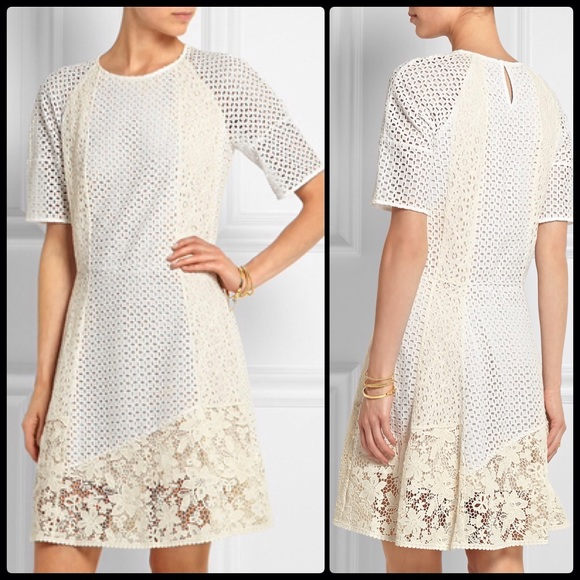 See By Chloe Guipure Lace Broderie Anglaise Nwt