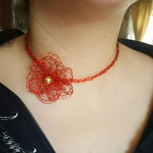 ⤵️⤵️  NWOT Vintage style Choker Necklace