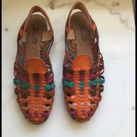 fdcbcd8ab974 Handmade Shoes - 🎉HP🎉 Authentic leather sandals from Mexico! NWOT