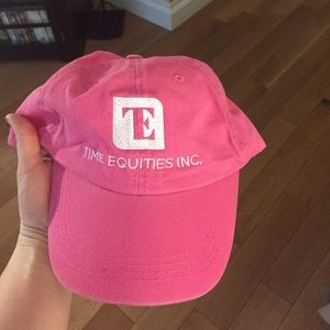 Pink baseball cap never worn!