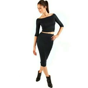Atid Clothing Dresses & Skirts - ATID SHER High-waisted pencil skirt