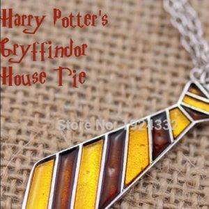Jewelry - HARRY POTTER GRYFFINDOR HOUSE TIE NECKLACE