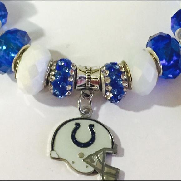 40 pandora jewelry handmade indianapolis colts nfl