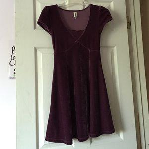 Frenchi Velvet and Lace Skater Dress!