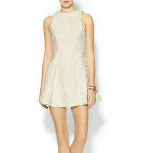 Keepsake Dresses & Skirts - Keepsake Floral Lace 'Let Me Be' Mini Skater Dress