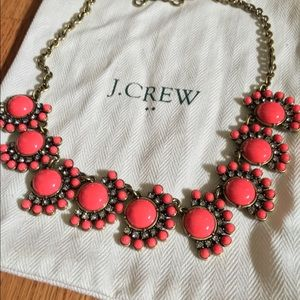 J. Crew Factory coral necklace